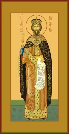 Владимир равноапостольный великий князь, икона