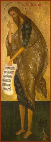 Иоанн Предтеча Креститель Господень, икона (арт.6449)