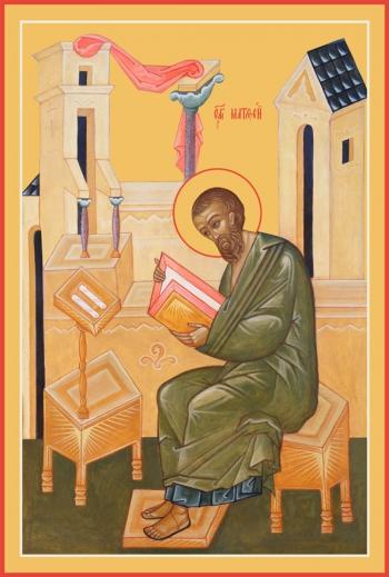 Матфей апостол, икона (арт.6454)