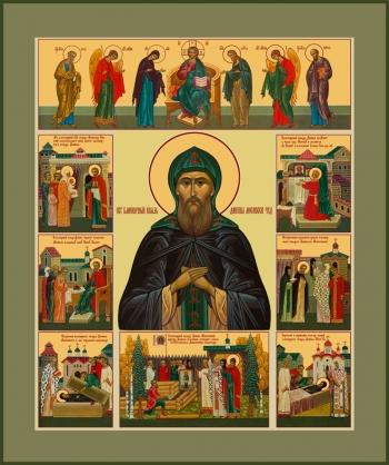 Даниил Московский благоверный князь, икона