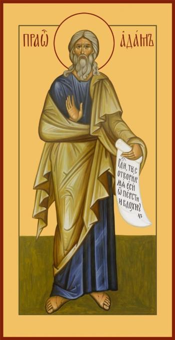 Адам праотец, икона (арт.6466)