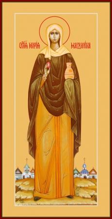 Мария Магдалина равноапостольная, мироносица, икона (арт.6471)
