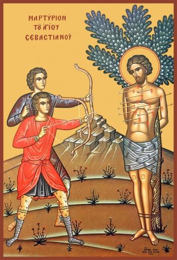 Севастиан Медиоланский, Римский, мученик
