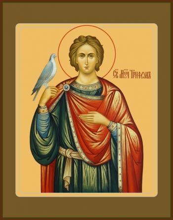 Трифон мученик, икона (арт.6508)