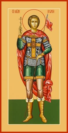 Георгий Победоносец великомученик, икона (арт.6509)