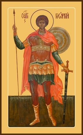 Георгий Победоносец великомученик, икона (арт.6517)
