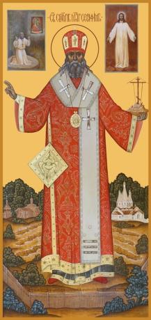 Серафим (Чичагов) митрополит священномученик, икона (арт.6520)