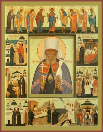 Серафим (Чичагов) митрополит священномученик, икона (арт.6534)