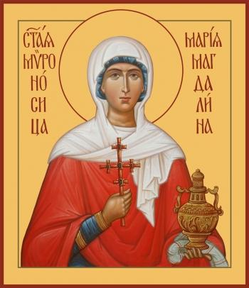 Мария Магдалина равноапостольная, мироносица, икона (арт.6535)