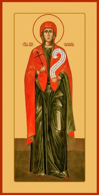 Параскева Пятница мученица, икона (арт.6543)