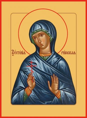 Евгения Римская великомученица, икона (арт.6548)