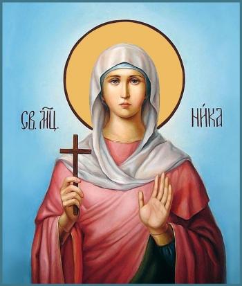 Виктория (Ника) Кордувийская мученица, икона