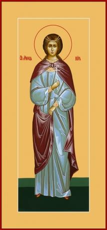 Вера Римская мученица, икона (арт.6555)