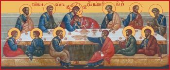 Тайная Вечеря, икона (арт.656)
