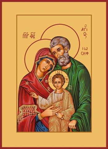 Святое Семейство, икона (арт.657)