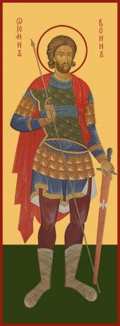 Иоанн Воин мученик, икона