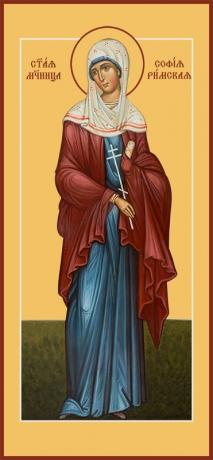 София Римская мученица, икона