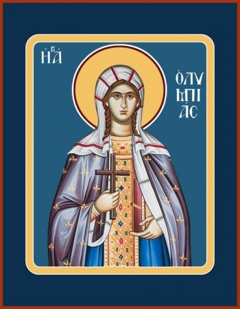 Олимпиада Константинопольская диаконисса