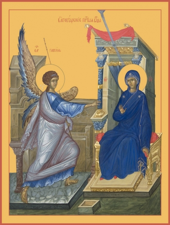 Благовещение Пресвятой Богородицы, икона (арт.6602)