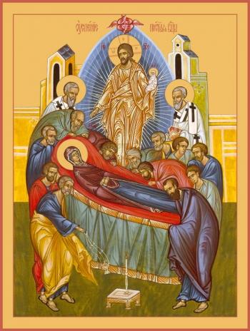 Успение Пресвятой Богородицы, икона (арт.6605)