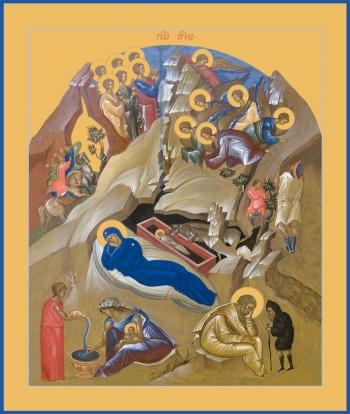 Рождество Христово, икона (арт.6607)