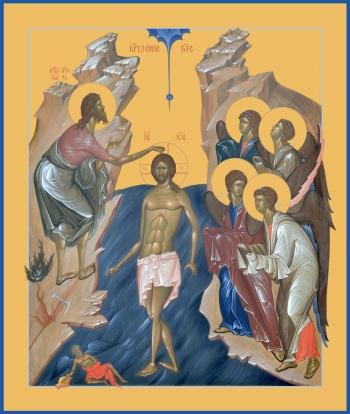 Богоявление Господне, икона (арт.6608)