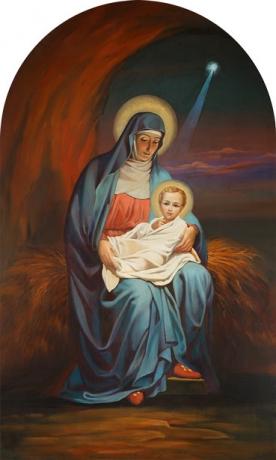 Рождество Христово, икона (арт.00660)