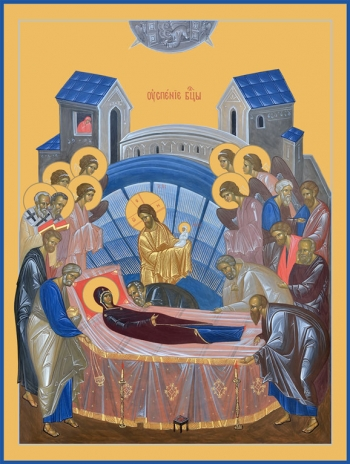 Успение Пресвятой Богородицы, икона (арт.6613)