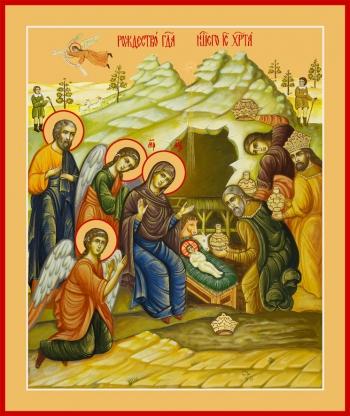 Рождество Христово, икона (арт.06618)