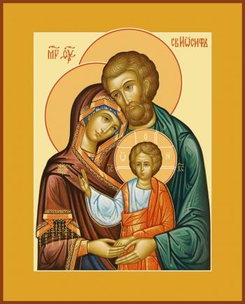 Святое Семейство, икона (арт.6621)