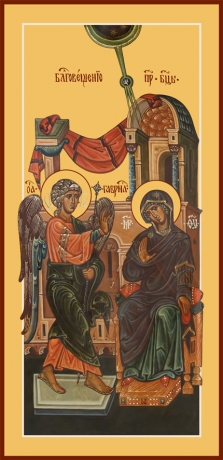 Благовещение Пресвятой Богородицы, икона (арт.6627)