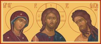 Деисус, икона (арт.6630)