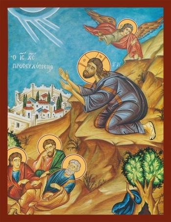 Моление о Чаше, икона (арт.6635)