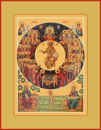 Собор всех святых, икона (арт.6649)