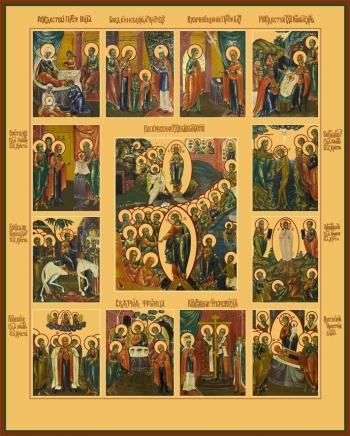Праздники, икона (арт.6650)