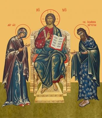 Деисус, икона (арт.667)