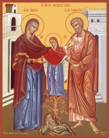 Иоаким и Анна праведные богоотцы