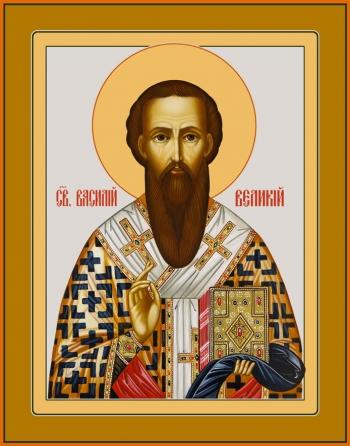 Василий Великий святитель, икона (арт.6711)