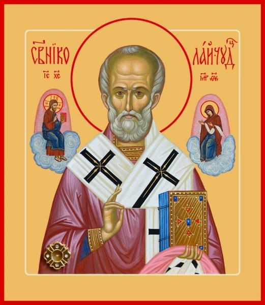 Николай чудотворец, архиепископ Мир Ликийских, святитель, икона (арт.06739)