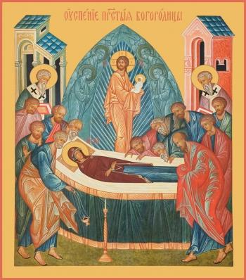 Успение Пресвятой Богородицы, икона (арт.00676)