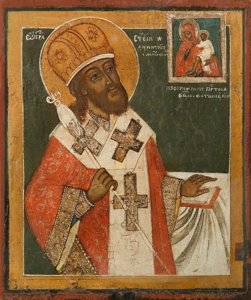 Димитрий Ростовский, святитель, икона