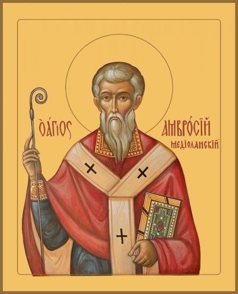 Амвросий Медиоланский, святитель