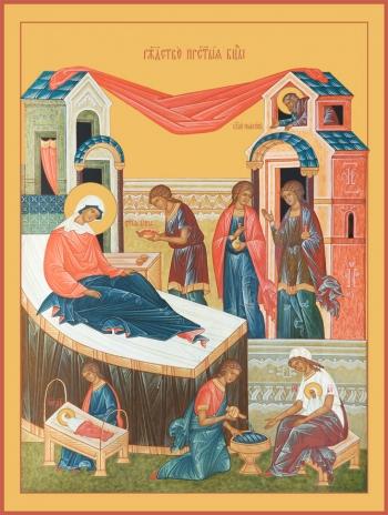 Рождество Пресвятой Богородицы, икона (арт.679)