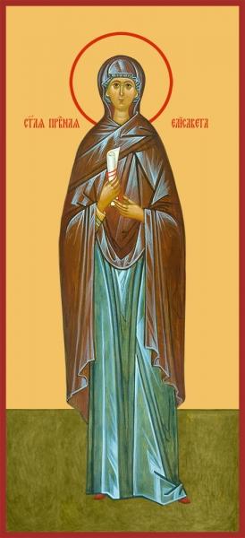 Елисавета Палестинская праведная, икона (арт.06800)