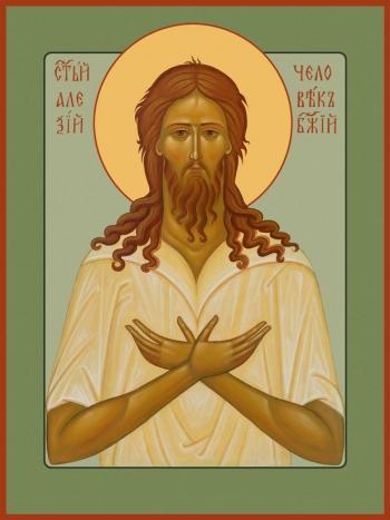 Алексий, человек Божий преподобный, икона (арт.6803)