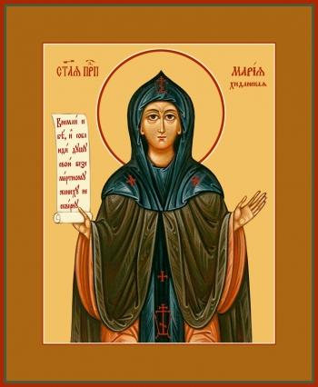 Мария Хиданская блаженная, икона (арт.6809)