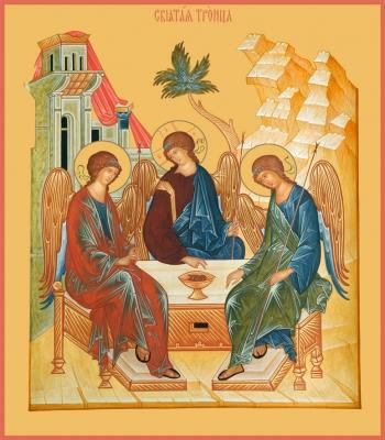 Святая Троица икона (арт. 681)