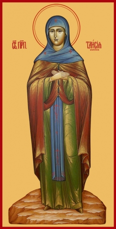 Таисия Египетская преподобная, икона (арт.6810)