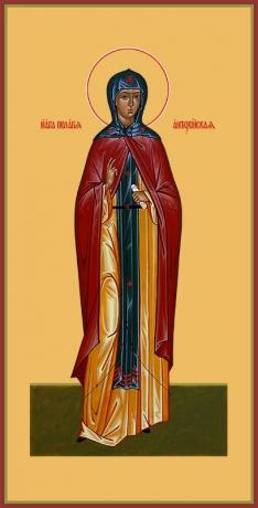 Пелагия Антиохийская преподобная