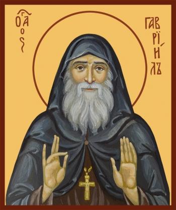 Гавриил (Ургебадзе) архимандрит, преподобный, икона